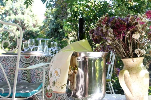 cenador jardin detalles